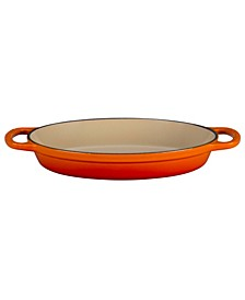 "9.5"" Cast Iron Oval Baker"