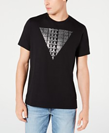 GUESS Men's 3D-Effect Logo T-Shirt