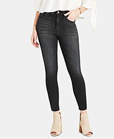 Charlie Cropped Cut-Hem Jeans