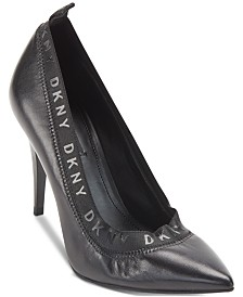 DKNY Katrina Logo Pumps, Created For Macy's