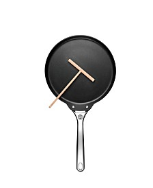 "Le Creuset 11"" Crepe Pan and Rateau"