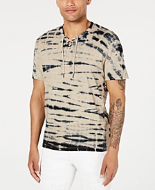 INC Men's Washed Zebra T-Shirt, Created for Macy's
