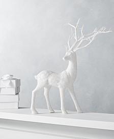 Dreamland White Glitter Deer, Created for Macy's