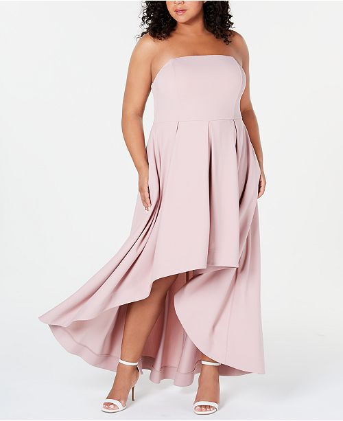 Speechless Trendy Plus Size Strapless Extreme Dress