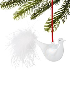 Snow Daze Bird with Feather Tail Ornament, Created for Macy's