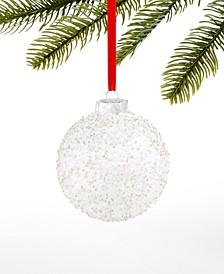 Shine Bright Glitter Ball Ornament, Created for Macy's