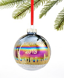 New York 2019 New York Iridescent Ball Ornament, Created for Macy's