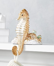 Holiday Lane Seaside Seahorse Stocking Holder, Created for Macy's