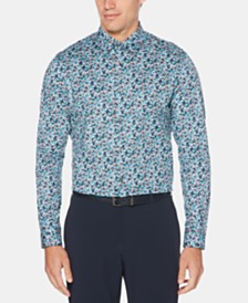 Perry Ellis Men's Floral Shirt