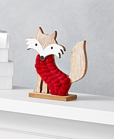 The Holiday Collection Fox in Red Sweater, Created for Macy's