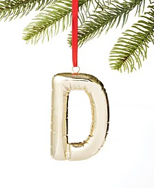 Holiday Lane Initials D Ornament, Created for Macy's