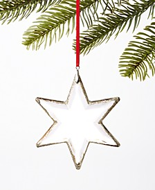 Type Script Star Ornament, Created for Macy's