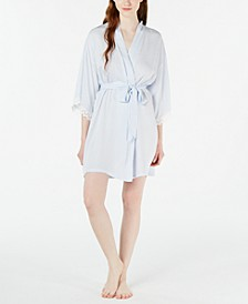 Striped Wrap Robe