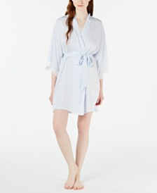 Linea Donatella Striped Wrap Robe