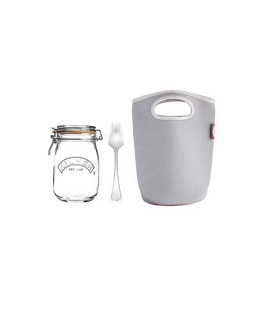 Kilner Make and Take 34 Fl Oz Jar Set