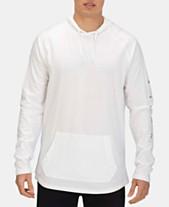 16192038a975 Hurley Men's Premium Mod Logo Graphic Raglan-Sleeve Hooded T-Shirt