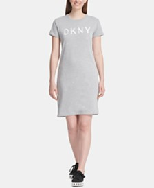 DKNY Logo T-Shirt Dress