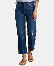 Straight Capri Jeans