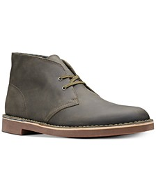 Men's Bushacre 2 Aubergine Leather Chukka Boots