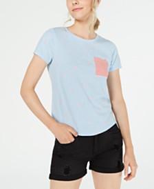 Self Esteem Juniors' Allover Print T-Shirt