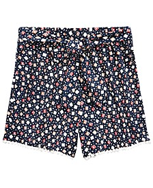 Big Girls Geometric-Print Shorts