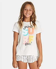 Billabong Big Girls Surf-Print T-Shirt