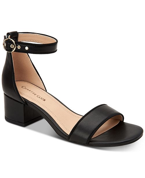 Charter Club Ruue Two-Piece Sandals, Created for Macy's