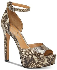 Beeya Two-Piece Platform Sandals, Created for Macy's
