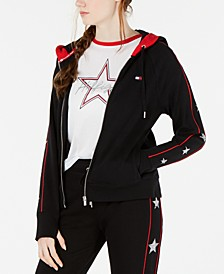 Star-Trim Zip Jacket
