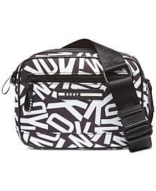DKNY Nora Logo Crossbody, Created for Macy's