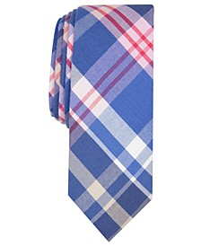 Men's Karly Plaid Skinny Tie