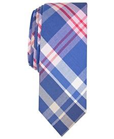 Men's Karly Plaid Skinny Tie