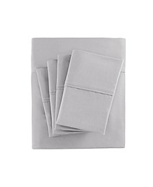 800 Thread Count 7-PC Split King Cotton Blend Sateen Sheet Set