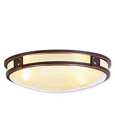 CLOSEOUT!   Titania 3-Light Ceiling Mount