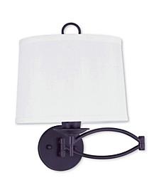 Basic 1-Light Swing Arm Wall Lamp