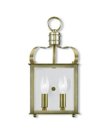 CLOSEOUT!   Garfield 2-Light Wall Sconce