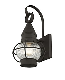 "CLOSEOUT!   Newburyport 1-Light 13.75"" Wall Lantern"
