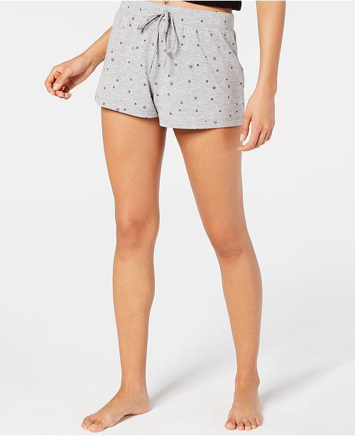 Jenni Star-Print Pajama Shorts, Created for Macy's