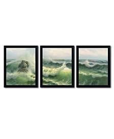 "Rio 'Waves II' Multi Frame Art Set - 16"" x 20"""