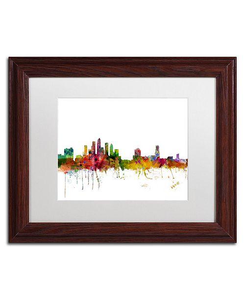 Trademark Global Michael Tompsett 'Tampa Florida Skyline