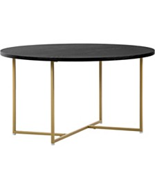 Ines Round Coffee Table, Quick Ship