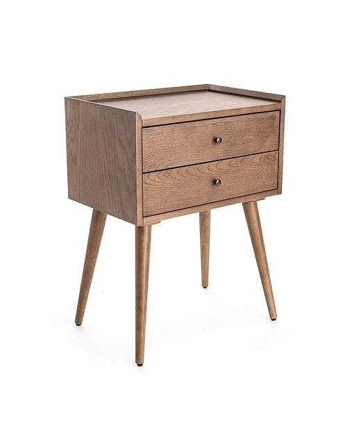 Finch Waldon 2-Drawer Side Table