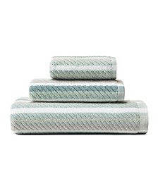Tommy Bahama Ocean Bay Stripe Bay 3-Pc. Towel Set