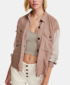 Free People Day Drifter Cargo Shirt