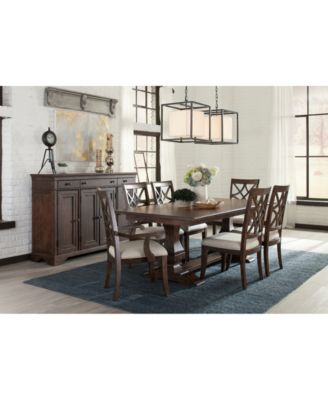Trisha Yearwood Trisha Dining Furniture, 5-Pc. Set (Expandable Table & 4 Side Chairs)