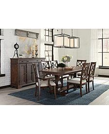 Trisha Yearwood Trisha Dining Furniture, 7-Pc. Set (Expandable Table, 4 Side Chairs & 2 Arm Chairs)