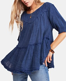 Free People Mystery Land Tunic Top