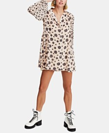 Free People Turn Turn Mini Dress