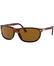 Polarized Sunglasses, PO3222S 62