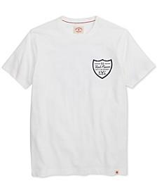 Men's Fleece Logo Graphic T-Shirt